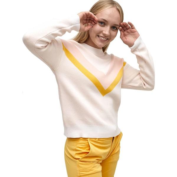 カリトラ レディース ニット&セーター アウター Songve Knit Sweater - Women's Bwhite