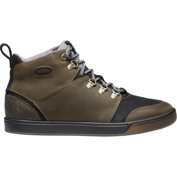 キーン メンズ ブーツ&レインブーツ シューズ Winterhaven Waterproof Boot - Men's Alcatraz/Black