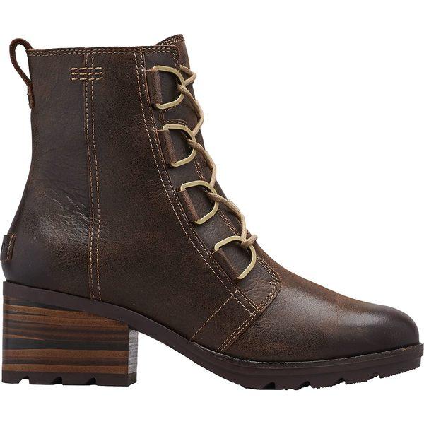ソレル レディース ブーツ&レインブーツ シューズ Cate Lace Boot - Women's Burro