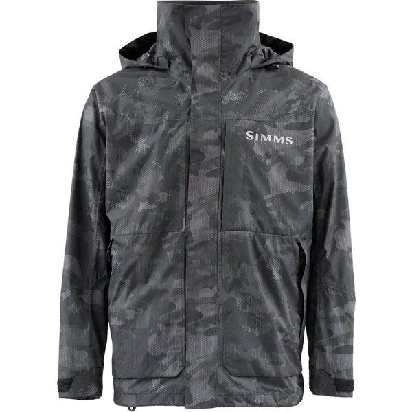 シムズ メンズ ジャケット&ブルゾン アウター Challenger Jacket - Men's Hex Flo Camo Carbon