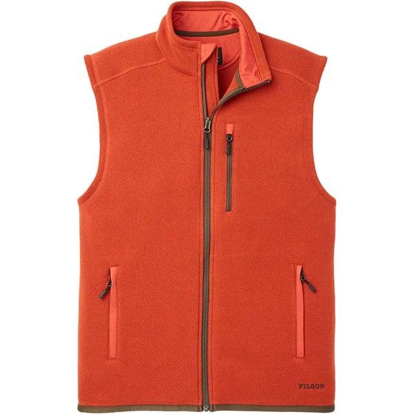 フィルソン メンズ ベスト トップス Ridgeway Fleece Vest - Men's Canvas Back