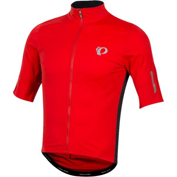 パールイズミ メンズ サイクリング スポーツ P.R.O. Pursuit Short-Sleeve Wind Jersey - Men's Torch Red/Black