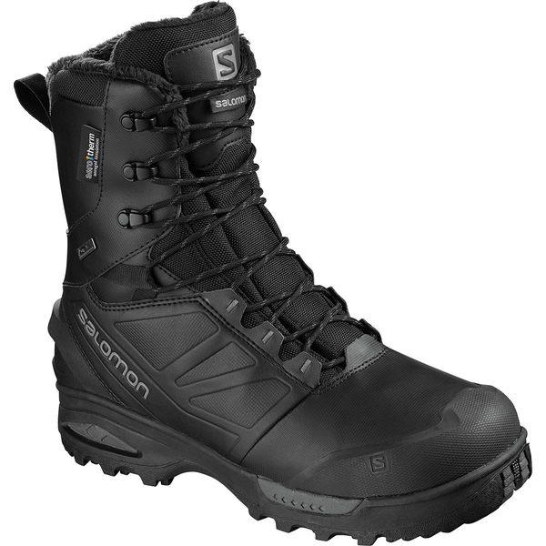 サロモン メンズ ブーツ&レインブーツ シューズ Toundra Pro CSWP Boot - Men's Black/Black/Magnet