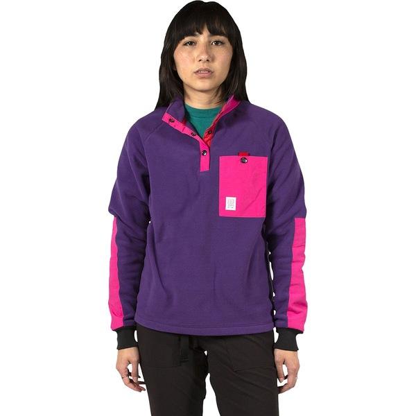 トポ・デザイン レディース ジャケット&ブルゾン アウター Mountain Fleece - Women's Purple