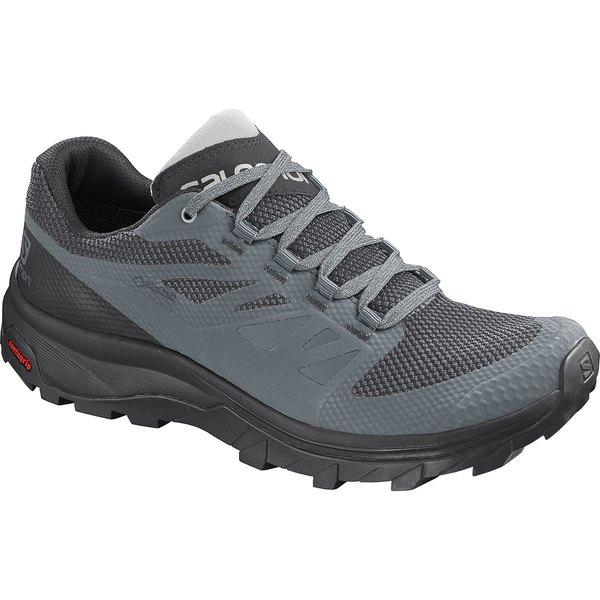 サロモン レディース スニーカー シューズ Outline GTX Hiking Shoe - Women's Stormy Weather/Black/Lunar Rock