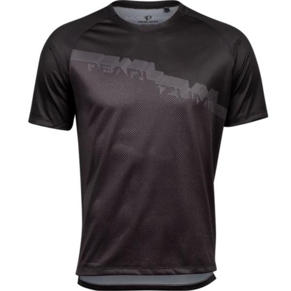 パールイズミ メンズ サイクリング スポーツ Summit Short-Sleeve Jersey - Men's Black/Phantom Diverge