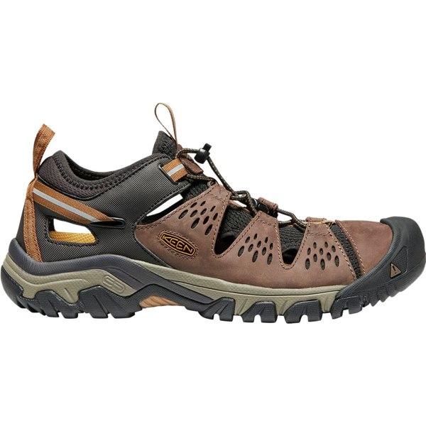キーン メンズ スニーカー シューズ Arroyo III Hiking Shoe - Men's Cuban/Golden Brown