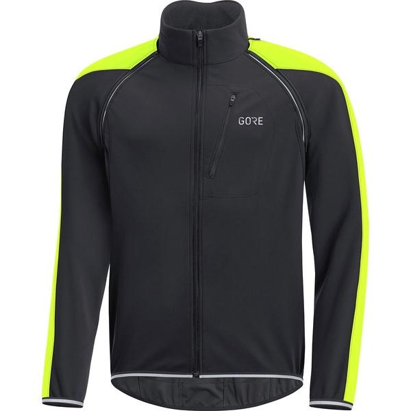 ゴアウェア メンズ サイクリング スポーツ C3 Gore Windstopper Phantom Zip-Off Jacket - Men's Black/Terra Grey