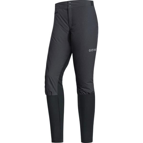 ゴアウェア レディース サイクリング スポーツ C5 Gore Windstopper Trail Pant - Women's Terra Grey/Black