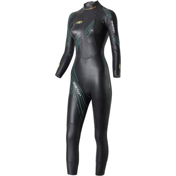 ブルーセブンティ レディース フィットネス スポーツ Reaction Full Wetsuit - Women's Black