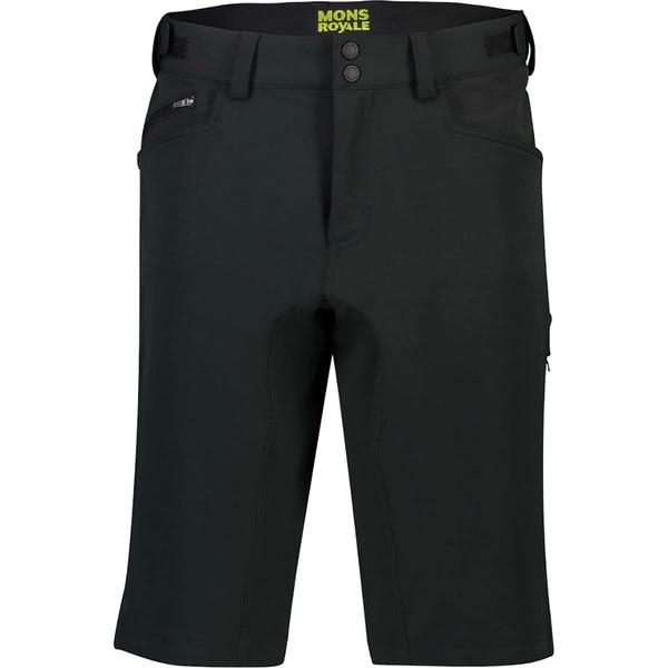 モンスロイヤル メンズ サイクリング スポーツ Momentum Bike Short - Men's Black
