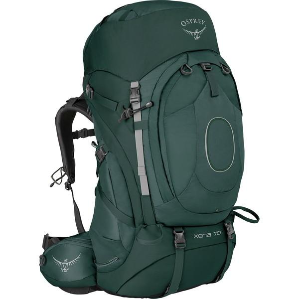 オスプレーパック レディース バックパック・リュックサック バッグ Xena 70L Backpack - Women's Canopy Green