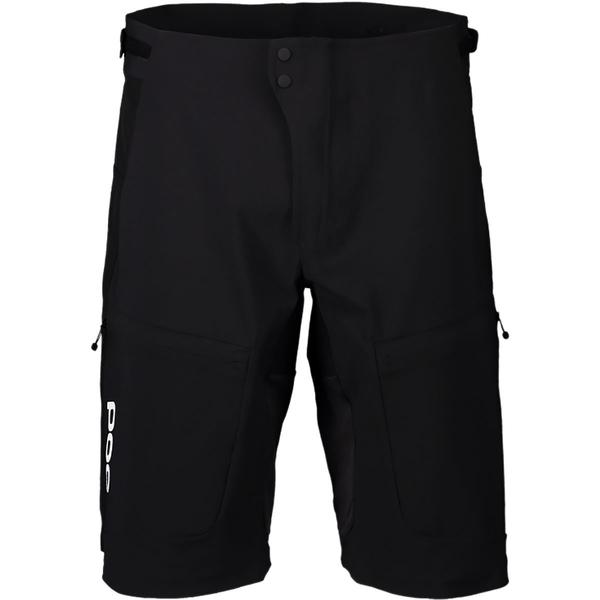 ピーオーシー メンズ サイクリング スポーツ Resistance Ultra Short - Men's Uranium Black