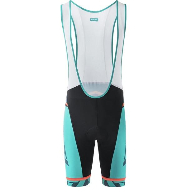 イエティ サイクル メンズ サイクリング スポーツ Ironton XC Bib Short - Men's Black/Magnet/Turquoise