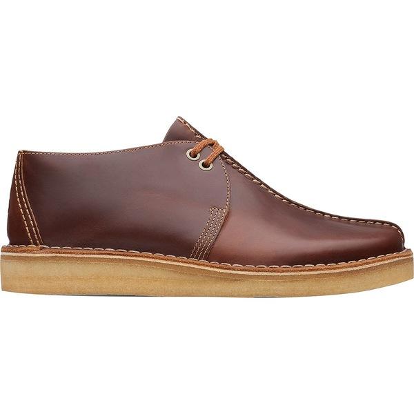 クラークス メンズ ブーツ&レインブーツ シューズ Desert Trek Boot - Men's Tan Leather