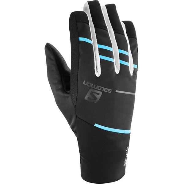 サロモン メンズ 手袋 アクセサリー RS Pro WS Glove Black/White