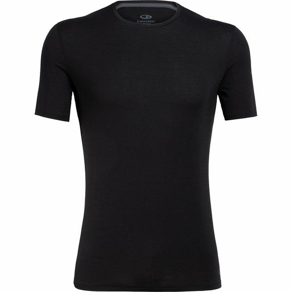アイスブレーカー メンズ Tシャツ トップス BodyFit 150-Ultralite Anatomica Crew - Men's Black