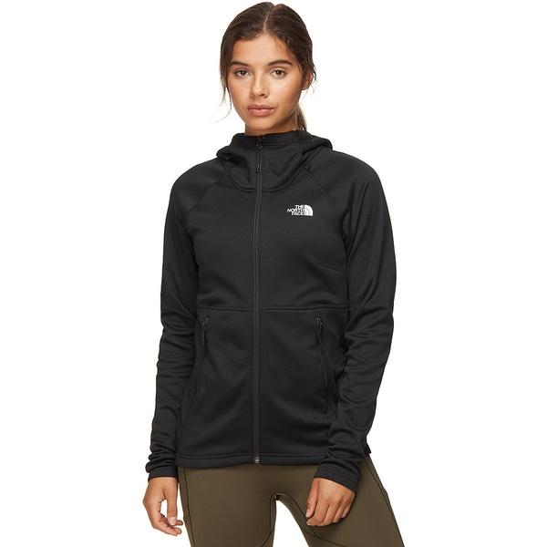 ノースフェイス レディース ジャケット&ブルゾン アウター Canyonlands Hooded Fleece Jacket - Women's TNF Black