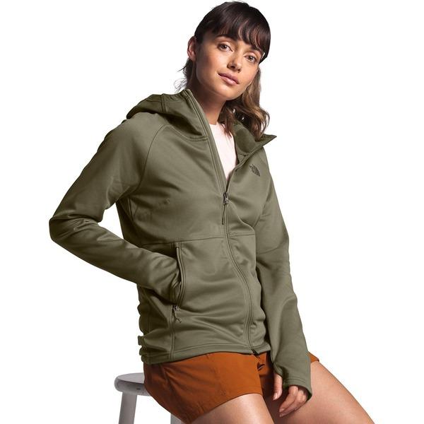 ノースフェイス レディース ジャケット&ブルゾン アウター Canyonlands Hooded Fleece Jacket - Women's Burnt Olive Green