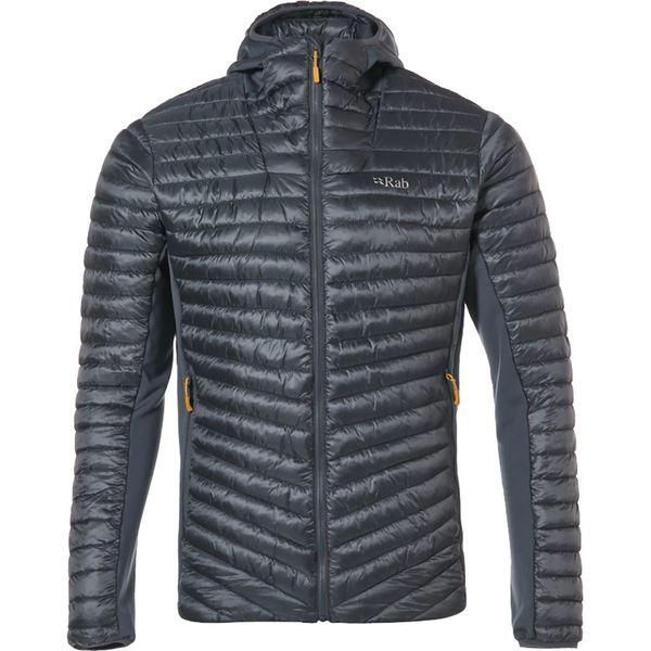 ラブ メンズ ジャケット&ブルゾン アウター Cirrus Flex Hooded Jacket - Men's Steel/Steel/Steel