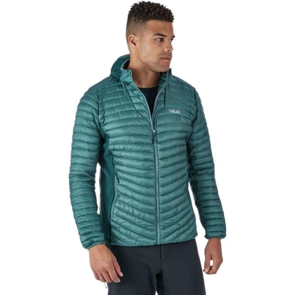 ラブ メンズ ジャケット&ブルゾン アウター Cirrus Flex Hooded Jacket - Men's Bright Arctic