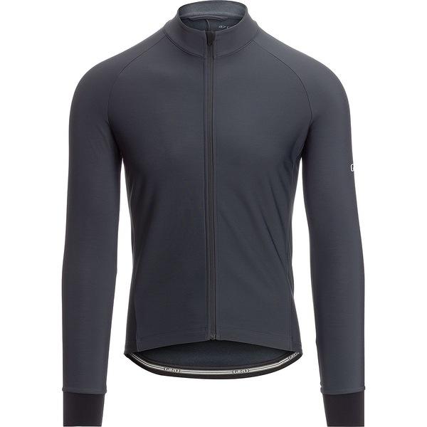 ジロ メンズ サイクリング スポーツ Chrono Thermal Long Sleeve Jersey - Men's Charcoal