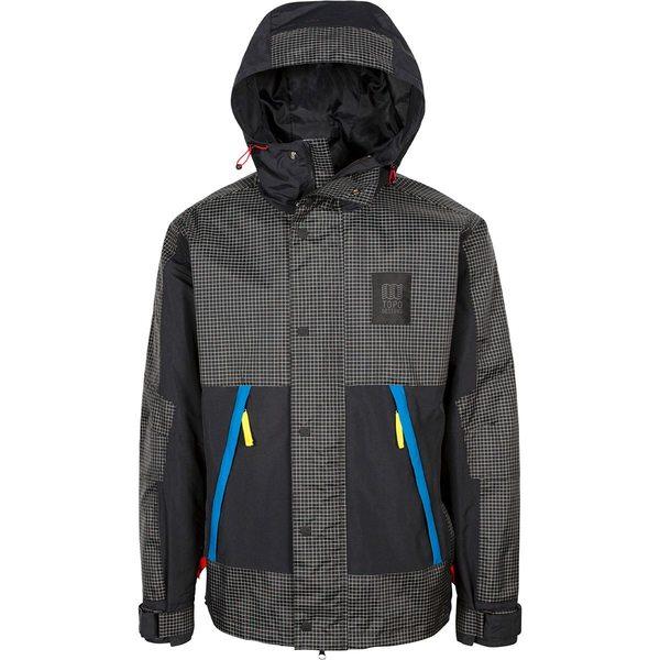 トポ・デザイン メンズ ジャケット&ブルゾン アウター Subalpine Jacket - Men's Black/White