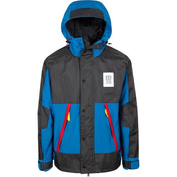 トポ・デザイン メンズ ジャケット&ブルゾン アウター Subalpine Jacket - Men's Blue/White