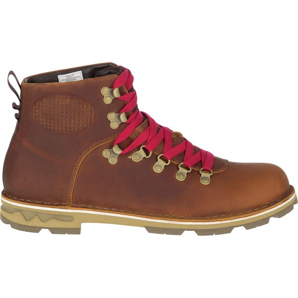 メレル メンズ ブーツ&レインブーツ シューズ Sugarbush Braden Mid Leather Waterproof Boot - Men's Merrell Oak