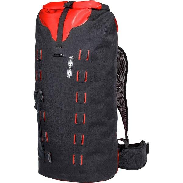 オルトリーブ メンズ バックパック・リュックサック バッグ Gear-Pack 40L Black/Red