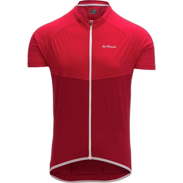 デマルキ メンズ サイクリング スポーツ Leggera Jersey - Men's Red