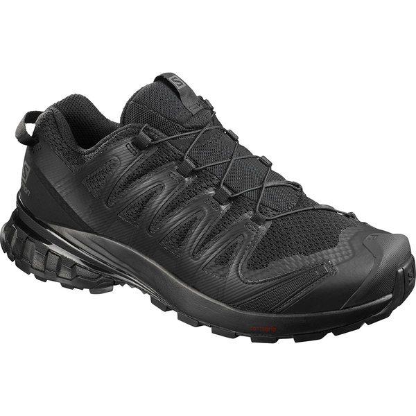 サロモン メンズ スニーカー シューズ XA Pro 3D V8 Wide Trail Running Shoe - Men's Black/Black/Black