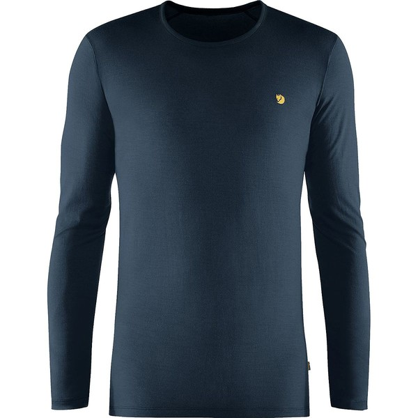 フェールラーベン メンズ Tシャツ トップス Bergtagen Thinwool LS Top - Men's Mountain Blue