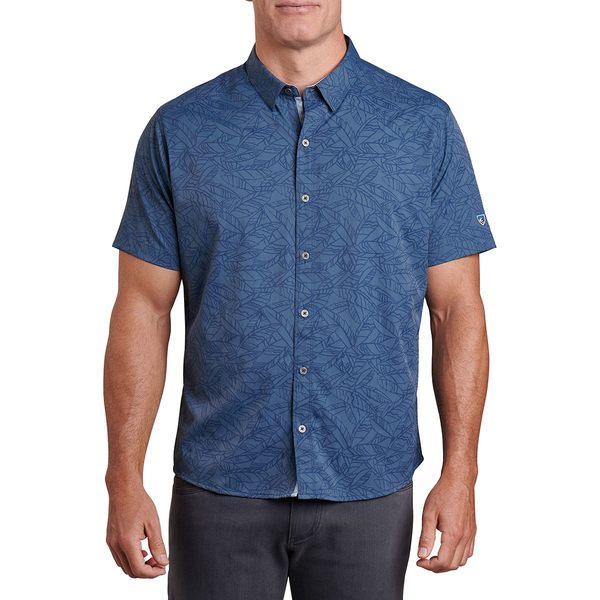 キュール メンズ シャツ トップス Repose Short-Sleeve Shirt - Men's Cosmos