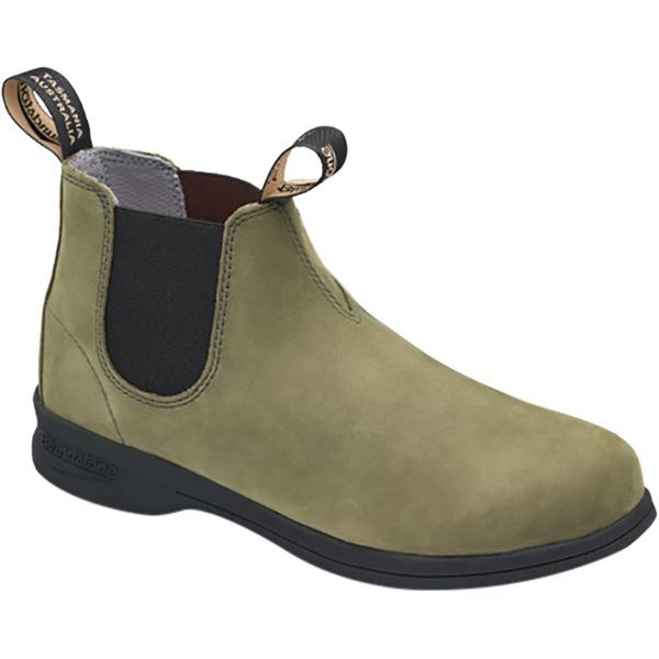 ブランドストーン メンズ ブーツ&レインブーツ シューズ Active Series Mid Cut Nubuck Boot - Men's Olive Nubuck