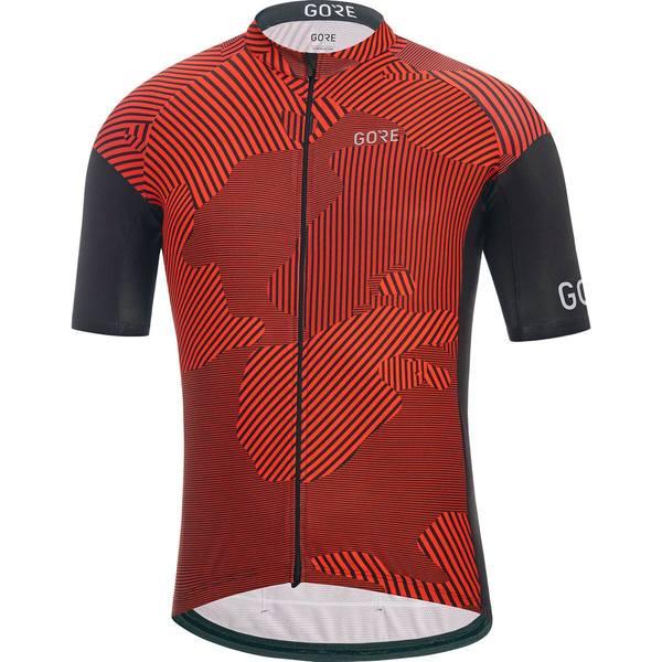 ゴアウェア メンズ サイクリング スポーツ C3 Combat Jersey - Men's Red/Black