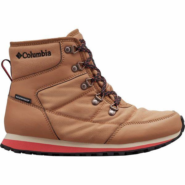 コロンビア レディース ブーツ&レインブーツ シューズ Wheatleigh Shorty Boot - Women's Elk/Daredevil