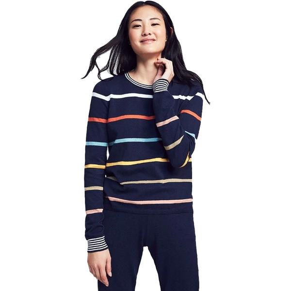 ファエティ レディース ニット&セーター アウター Surf Sweater - Women's Navy Stripe