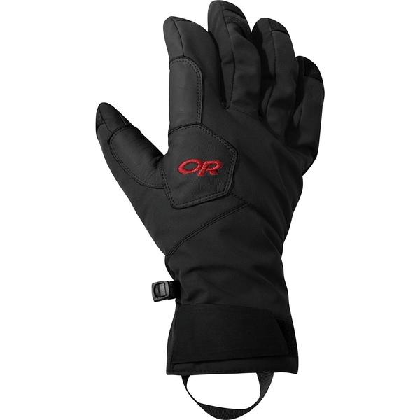 アウトドアリサーチ メンズ 手袋 アクセサリー Bitterblaze Glove Black/Tomato