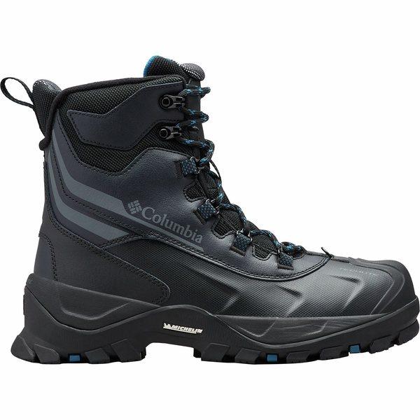コロンビア メンズ ブーツ&レインブーツ シューズ Bugaboot Plus IV Omni-Heat Boot - Men's Black/Phoenix Blue