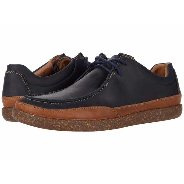 クラークス メンズ ドレスシューズ シューズ Un Lisbon Walk Navy Oily Leather