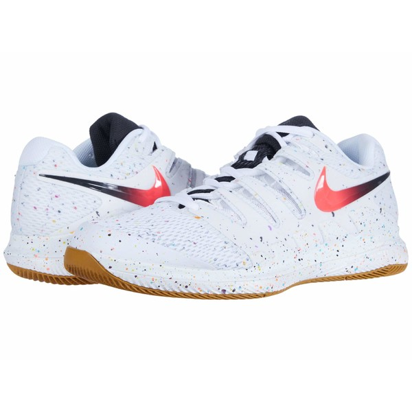 ナイキ メンズ スニーカー シューズ Air Zoom Vapor X White/Laser Crimson/Oracle Aqua/Off Noir