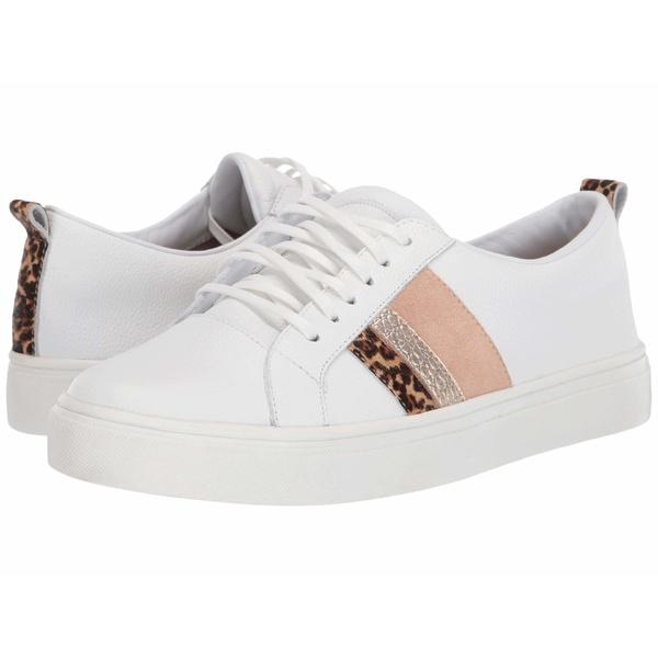 カーナス レディース スニーカー シューズ Bristol Lace-Up Sneaker with Side Stripes Cheetah