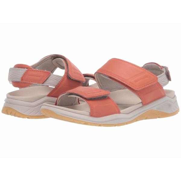 エコー レディース サンダル シューズ X-Trinsic Leather Sandal Apricot Yak Leather