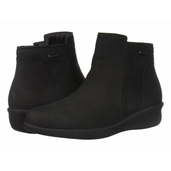 アラヴォン レディース ブーツ&レインブーツ シューズ Fairlee Waterproof Ankle Boot Black Nubuck