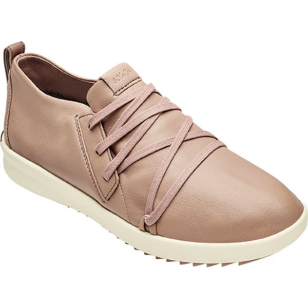 オルカイ レディース スニーカー シューズ Malua Li Lace Up Sneaker Warm Taupe/Off White Full Grain Leather