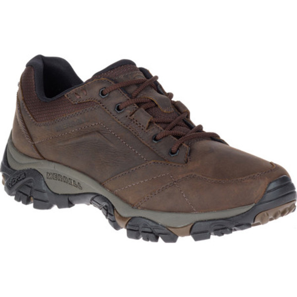 メレル メンズ ブーツ&レインブーツ シューズ Moab Adventure Lace Hiking Shoe Dark Earth Nubuck Leather