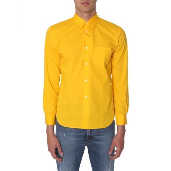 コムデギャルソン・シャツ・ボーイ メンズ シャツ トップス Comme des Garons Shirt Boy Shirt With Logo Print -