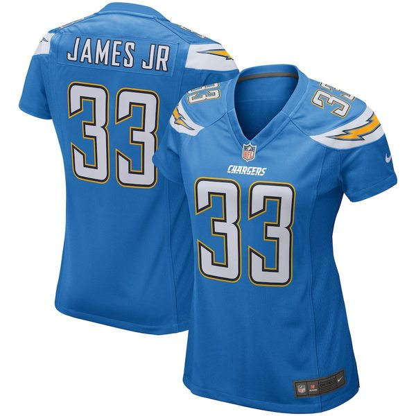 ナイキ レディース シャツ トップス Derwin James Los Angeles Chargers Nike Women's Player Game Jersey Powder Blue