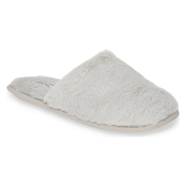 フロラキンルーズ レディース サンダル シューズ Flora Nikrooz Victoria Bridal Party Faux Fur Slipper (Women) Mist